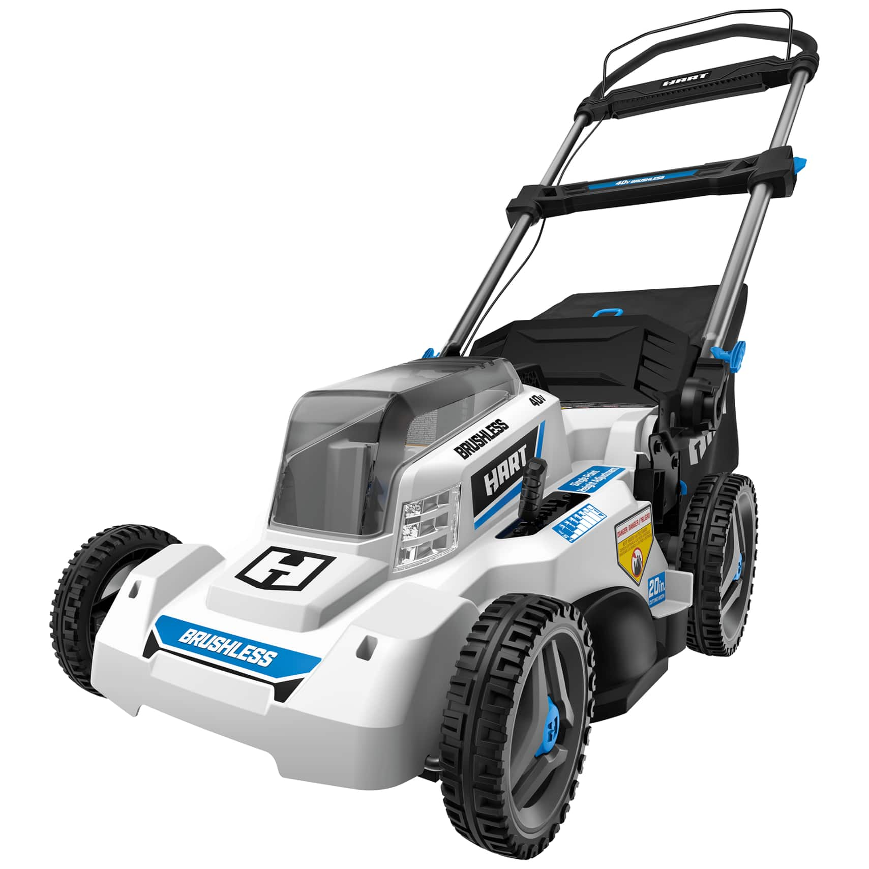 """Hart 20"""" Brushless Rechargeable Lawn Mower 5.0 Ah Battery w/Charger $150 on Clearance at Walmart YMMV"""