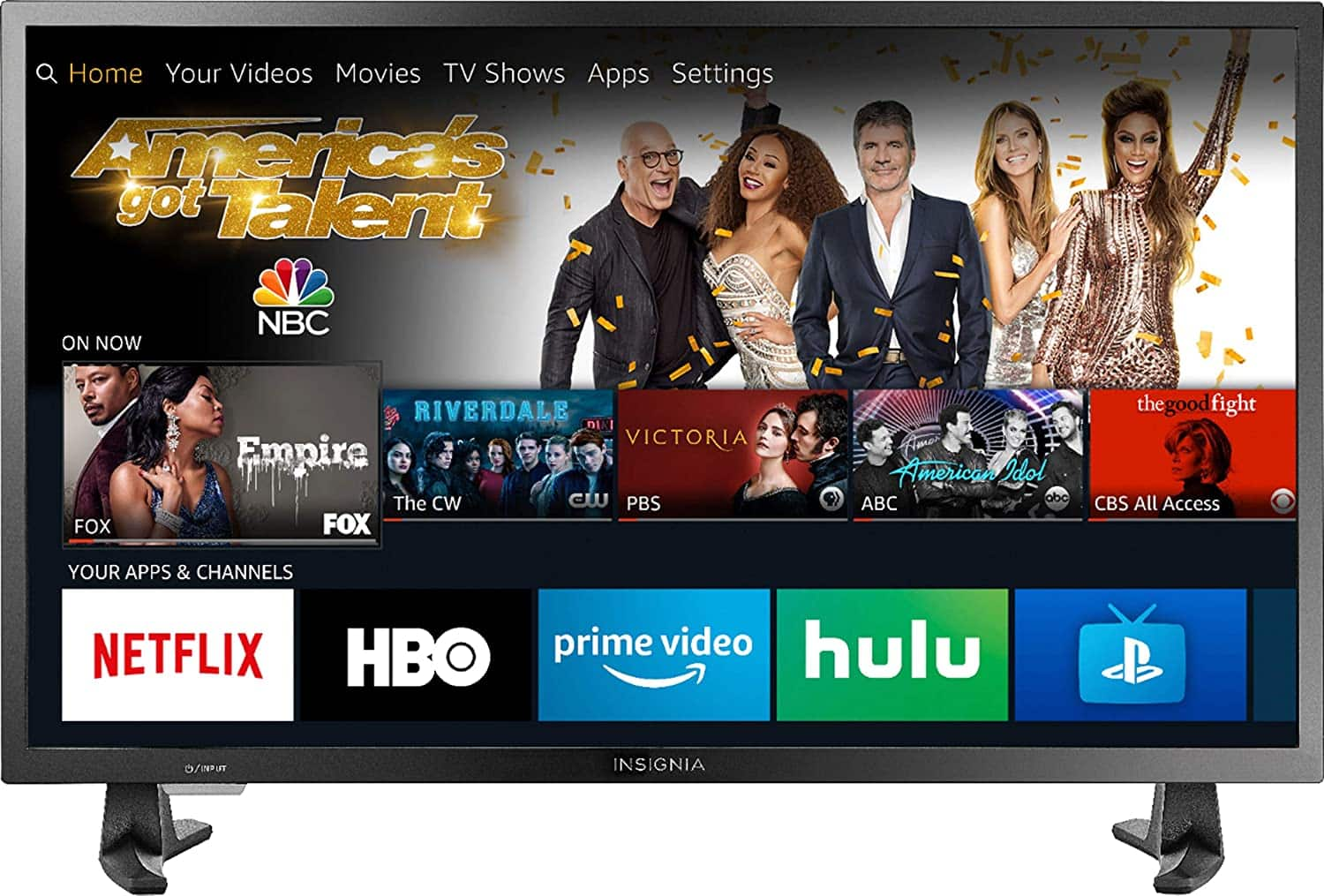 Insignia NS-32DF310NA19 32-inch Smart HD TV - Fire TV Edition with Alexa Voice Remote :	$129.99 & FREE Shipping -Amazon