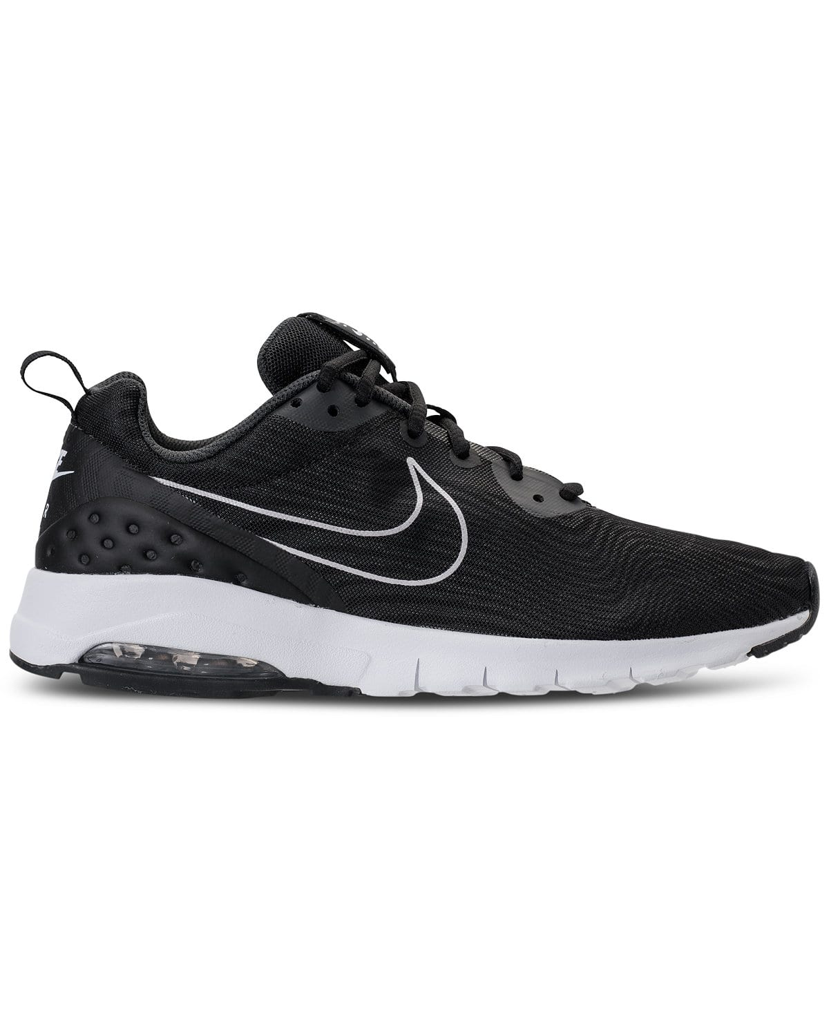 quality design 318f8 fc5a5 ... real nike mens air max motion lw premium running sneakers black 7b45c  fbc3a