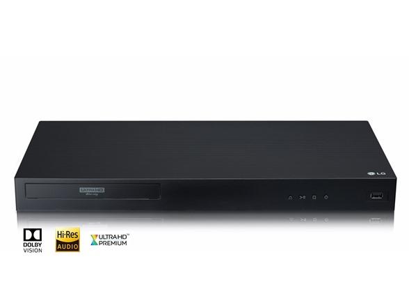 LG UBKC90 4K UHD Dolby Vision/Atmos Blu-Ray Player $99 Refurbished