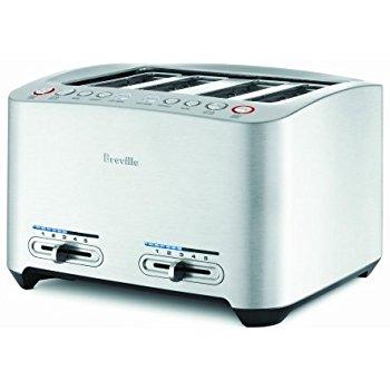 Breville BTA840XL Die-Cast 4-Slice Smart Toaster, $99.99, Amazon.com