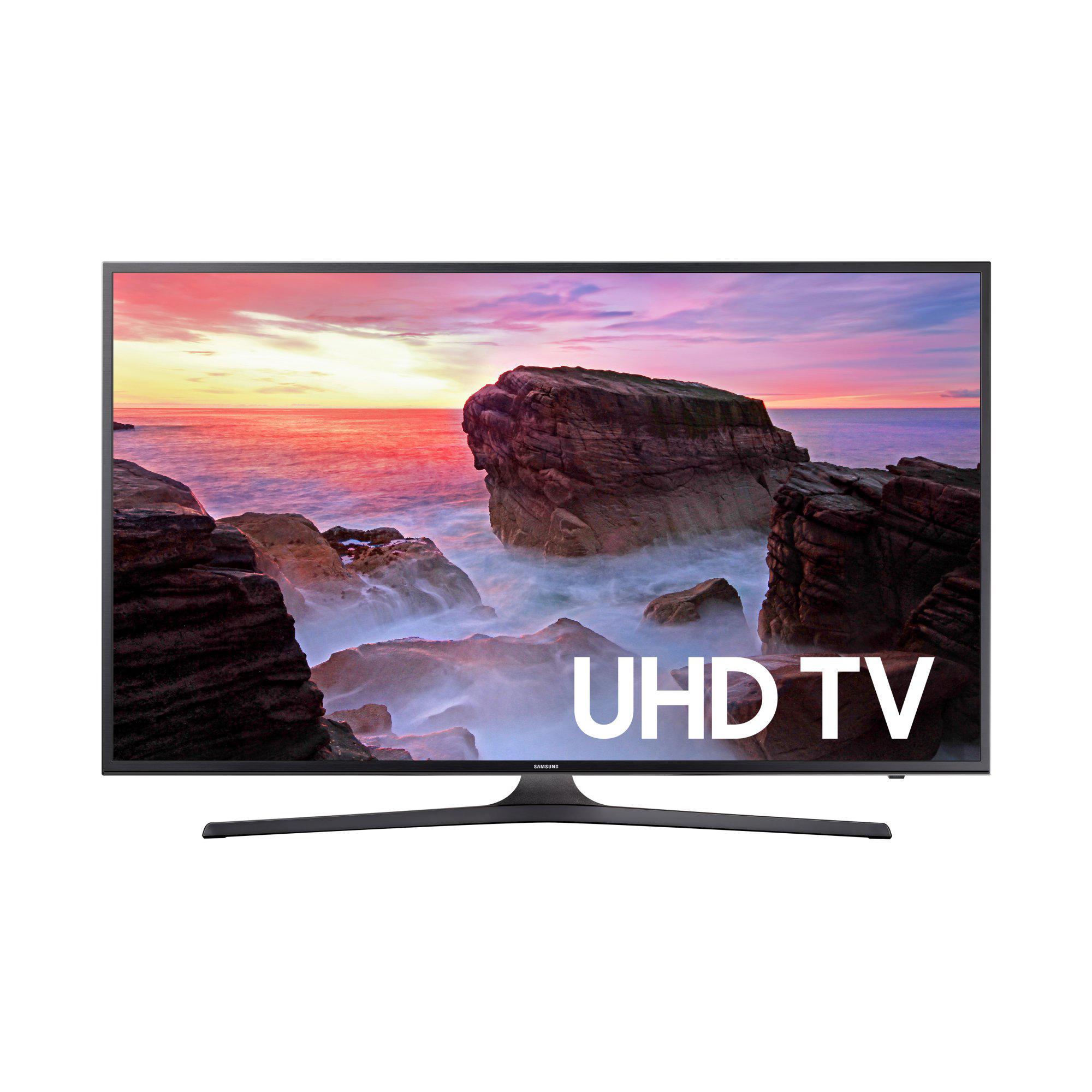 Samsung UN58MU6070 4K UHD HDR Smart LED HDTV $528 + Free Store Pickup @ Walmart