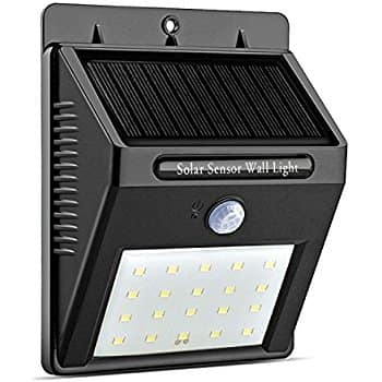 Solar Lights Outdoor 20 LED With Motion Sensor  for $11.99