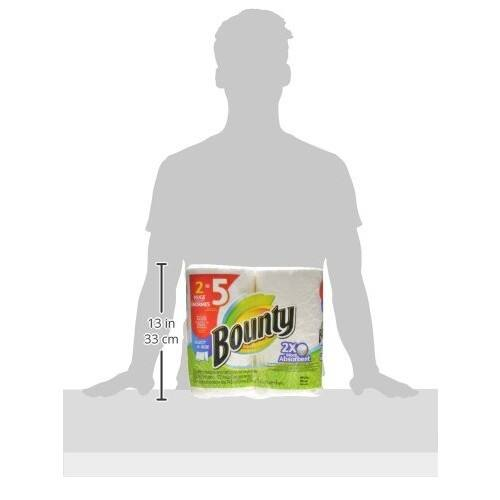 Bounty Select-a-Size Paper Towels, White, Huge Roll [12 Count] $27.94