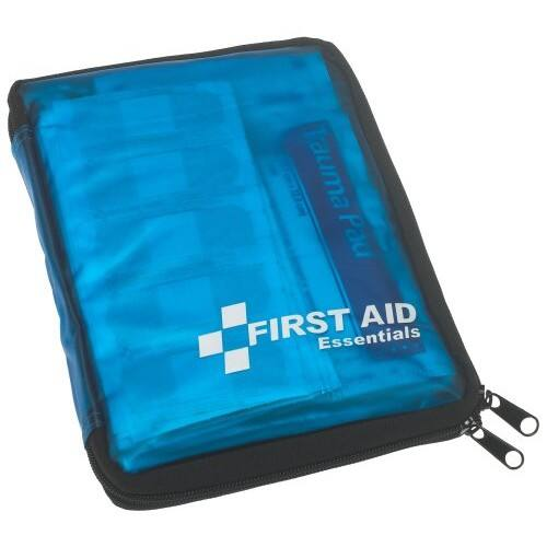 $12.06  First Aid Only All-Purpose First Aid Essentials Kit, 299 Pieces, Fabric Case on Amazon  Free shipping@Bestbuy