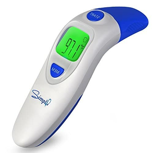 QQCute Digital Infrared Forehead Thermomete For Baby Kid Adult for $15.99