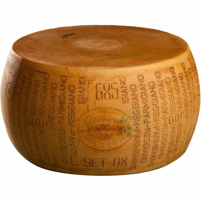 Costco Kirkland Signature Cheese 72-pound Whole Wheel Parmigiano Reggiano, Imported from Italy, $899.99, free shipping