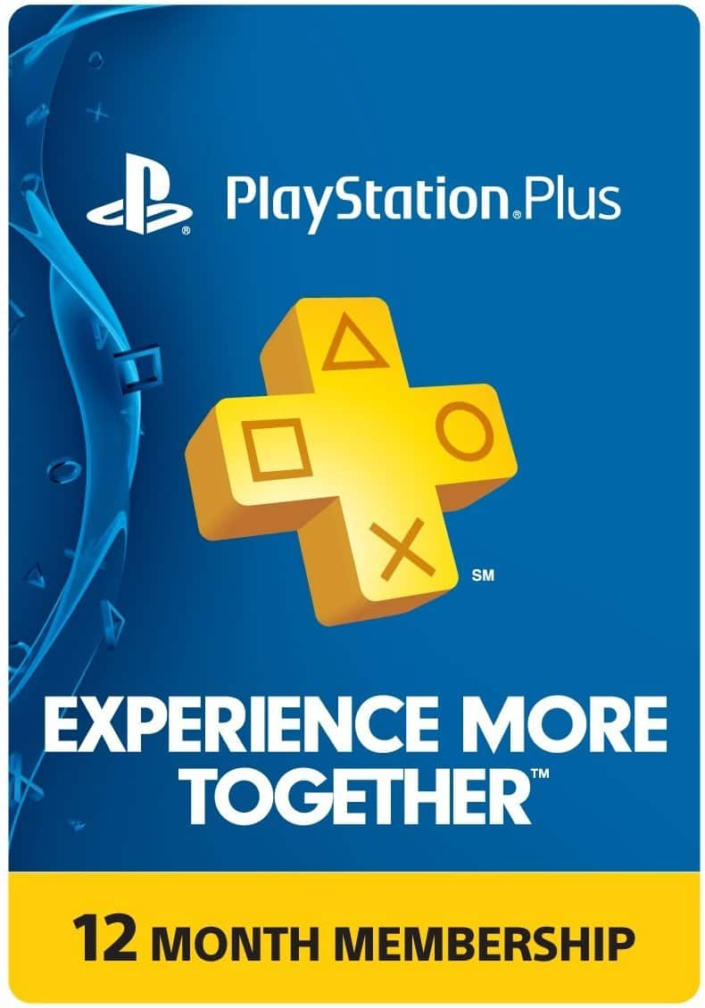 Sony PlayStation Plus 1-Year Membership (In-Store, YMMV) $39.99