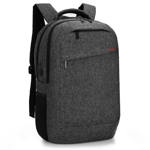 CoolBELL 17.3 Inch Laptop Backpack With USB Charging Port Function for $25.99  (Black / Grey) + FS
