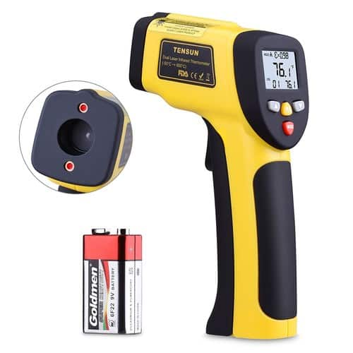 Dual Laser Thermometer Temperature Gun (58℉~1202℉) for $18.89