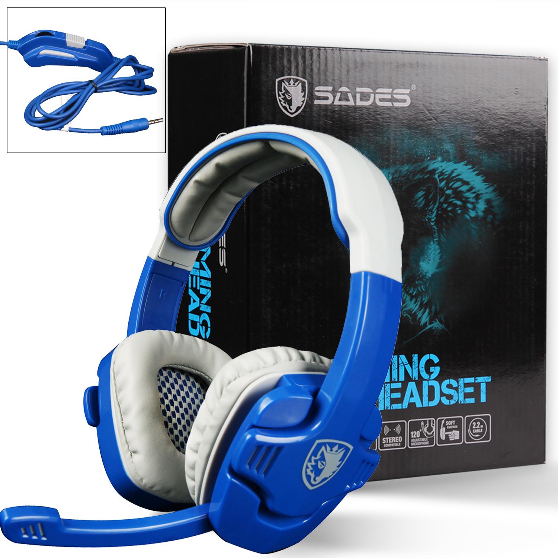 SADES SA708 3.5mm Stereo Gaming Headsets with Microphone - $9.59