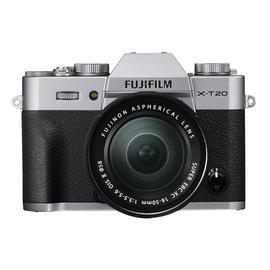 Fuji XT20 Mirrorless Military Appreciation Bundle w XC16-50mm Lens, XC 50-230 mm lens, 16GB SD Card, Bottom Leather Case - $698 shipped