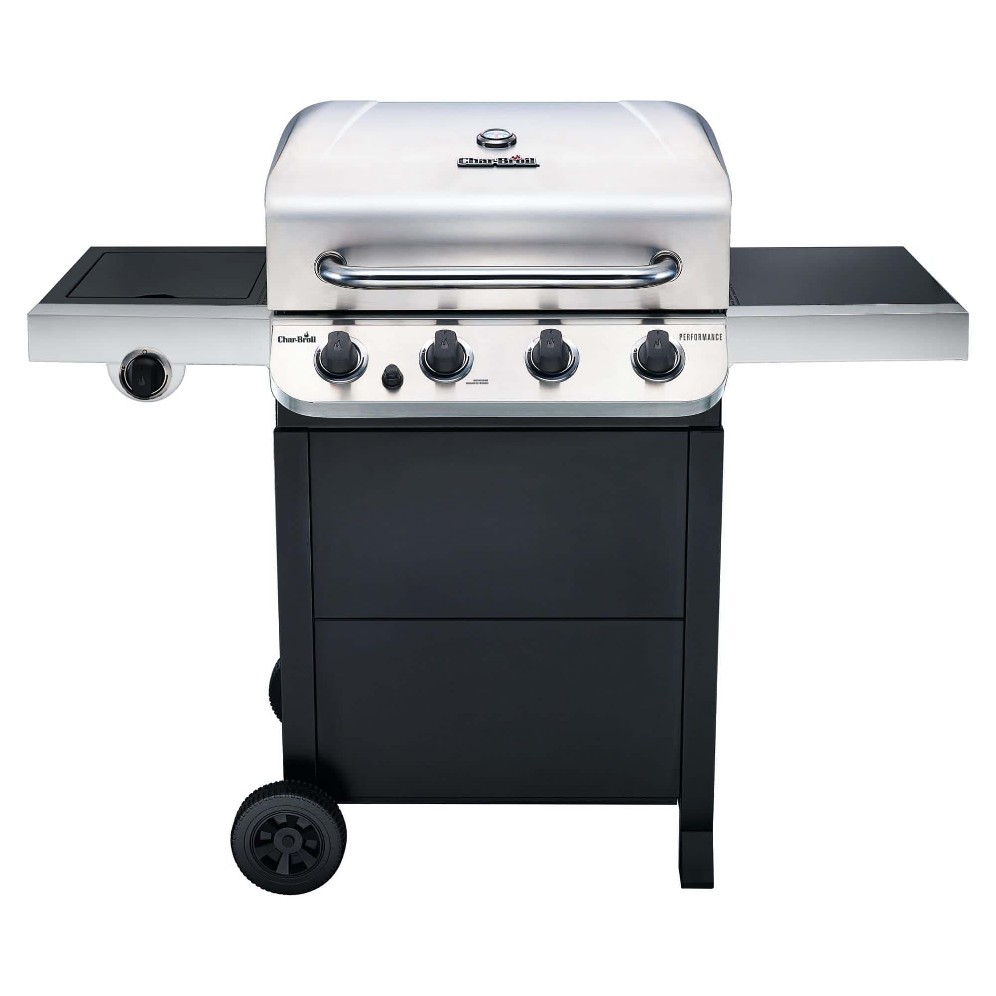 Char-Broil Performance Series 4-Burner Gas Grill with side burner at BJ's Wholesale club $179.99