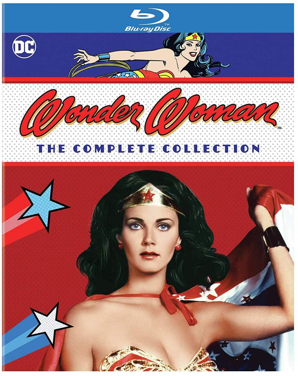 Wonder Woman: The Complete Series [Blu-ray] @ $29.99