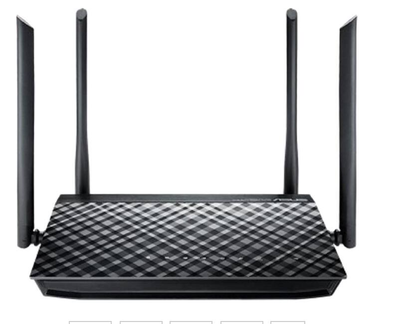 ASUS RT-AC1200G AC1200 Dual-Band Wi-Fi Router $40