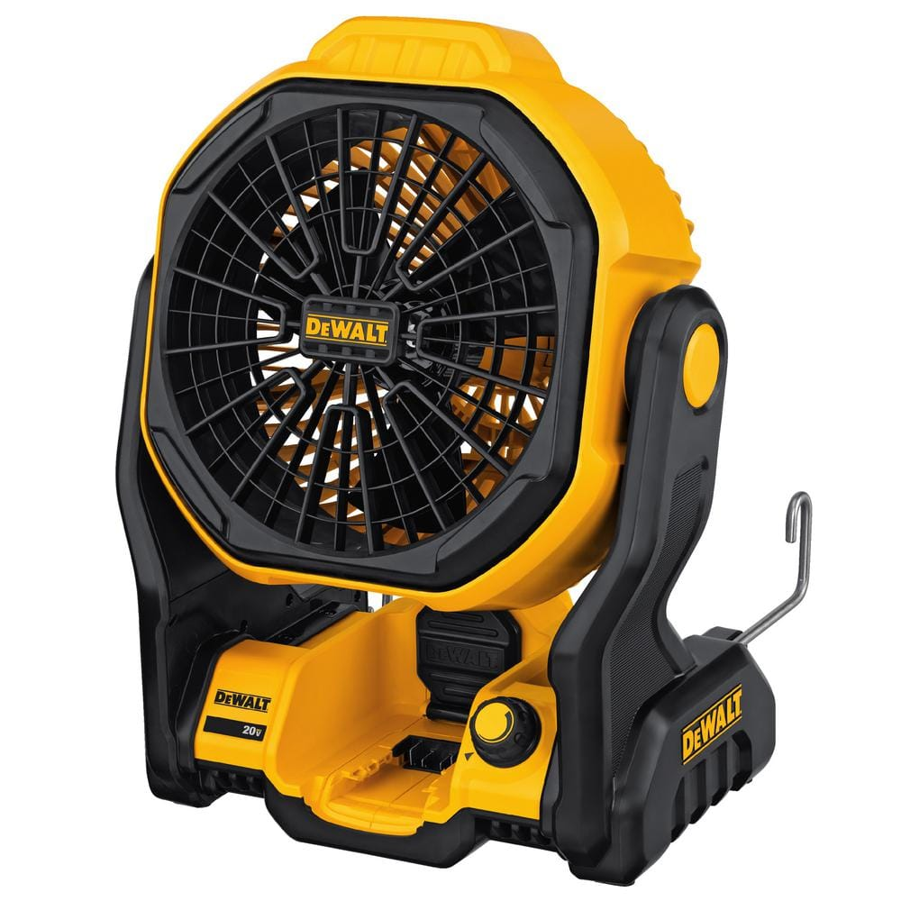 YMMV - Dewalt 20-Volt Max corded/cordless Jobsite Fan Kit with 1.5 Ah Battery and Charger $75 in-store