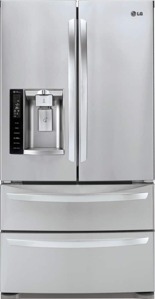 LG LMXS27626S 27.6 Cu Ft FRENCH DOOR DOUBLE FREEZER REFRIGERATOR $1511.00 LIVE NOW