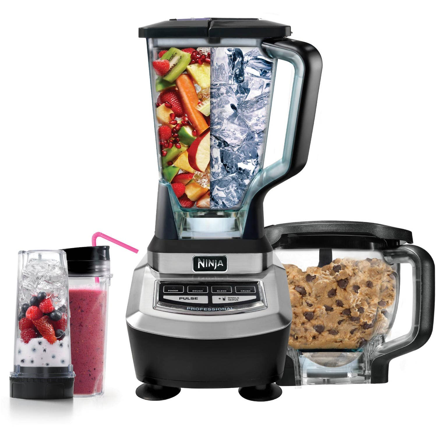 Ninja Supra Kitchen Blender System with Food Processor - $35