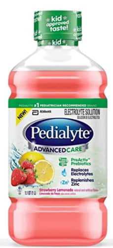 Pedialyte 1L ($1.54 strawberry lemonade or $1.65 strawberry) from Amazon Pantry