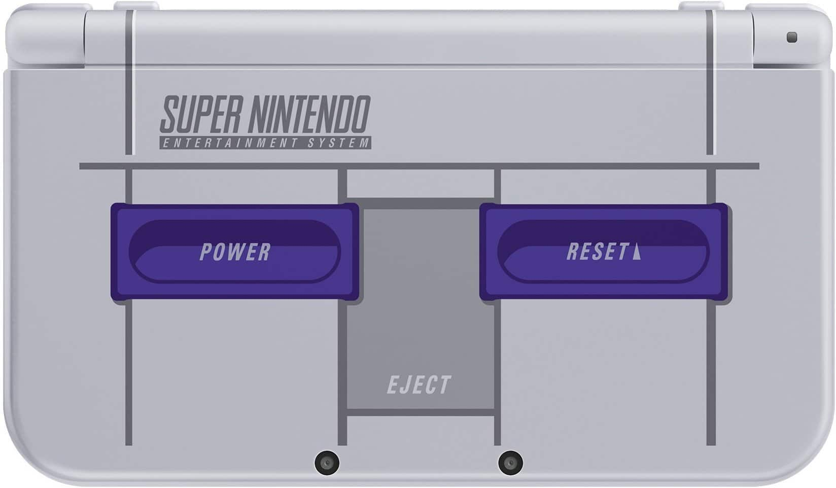 "Amazon Warehouse - (Used - Very Good) Nintendo ""New"" 3DS XL SNES Edition - $136.40 Free Shipping"