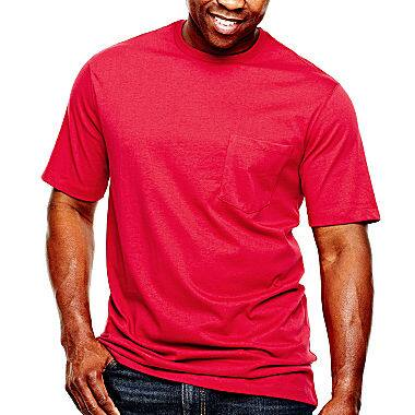 The Foundry Big & Tall Supply Co.™ Solid Pocket Tee $11.99 at jcpenney