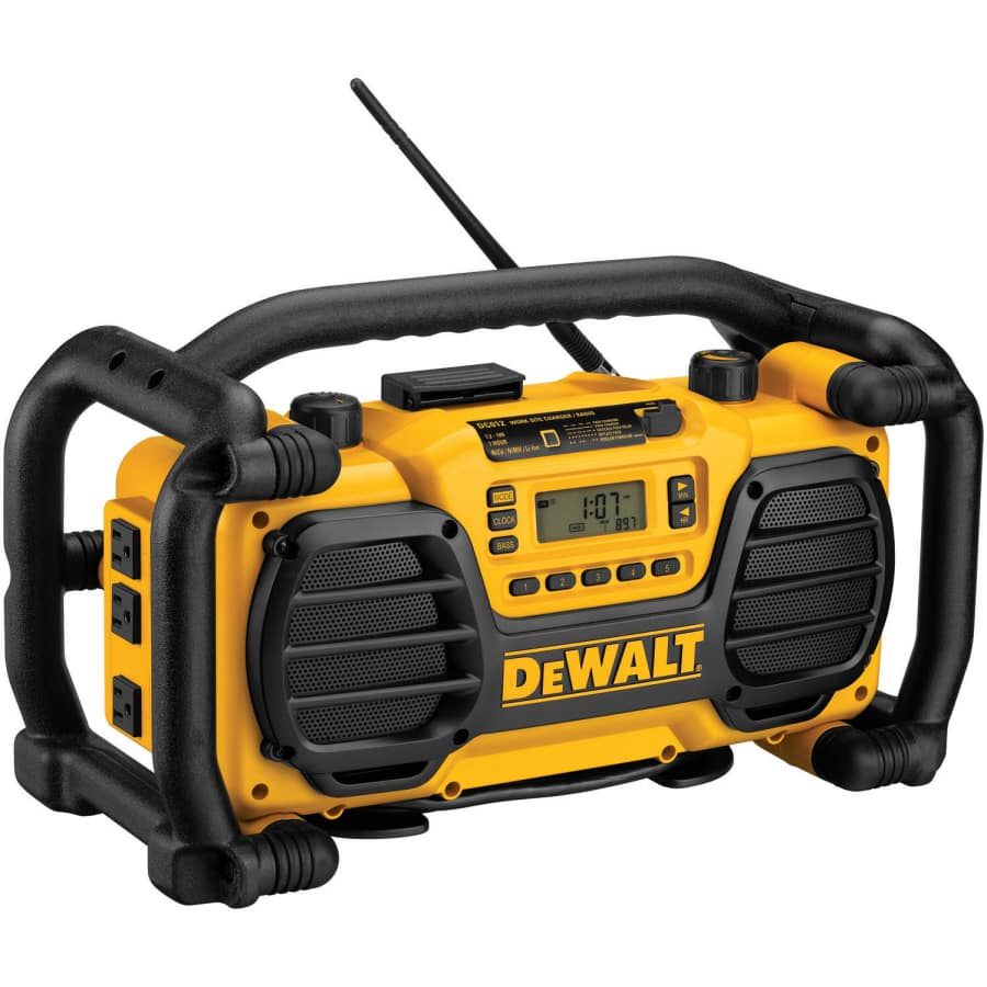 Lowes.com DEWALT Jobsite Radio  DC012  $85 FS 50% off