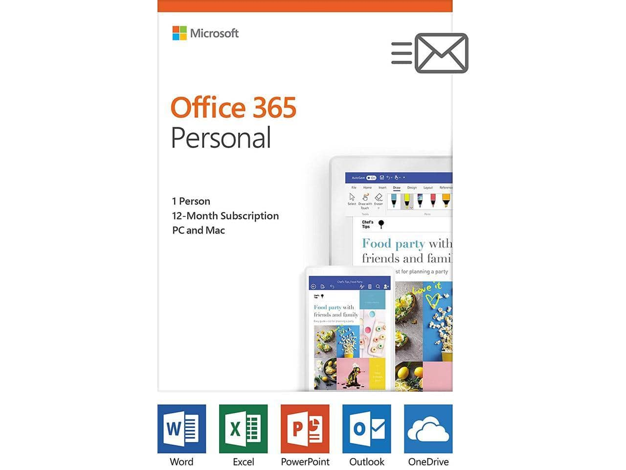 Microsoft Office 365 Personal - 1 Year Subscription (1 user - multiple devices) +  Free Shipping $39.99     (Note:  Sold by UShopMall through Newegg)