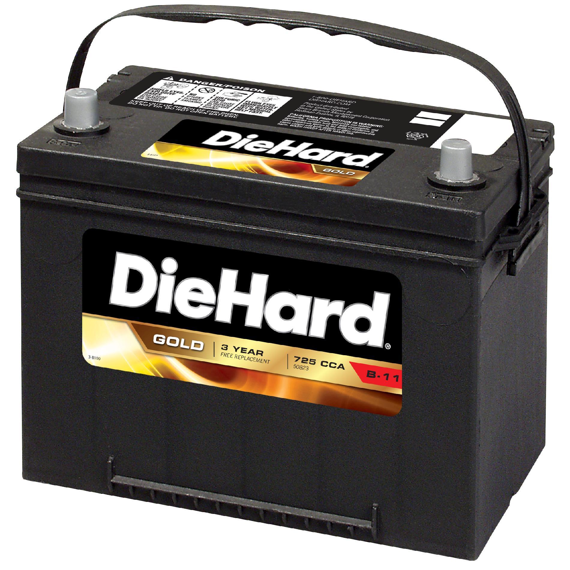 SEARS - 25% OFF all Die Hard Automotive/Marine/Lawn & Garden Batteries + Free in-store pickup