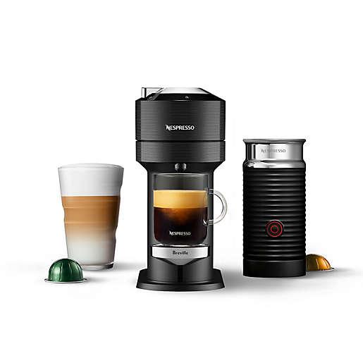 Nespresso® by Breville Vertuo Next Premium Coffee Machine with Aeroccino in Black $123.19