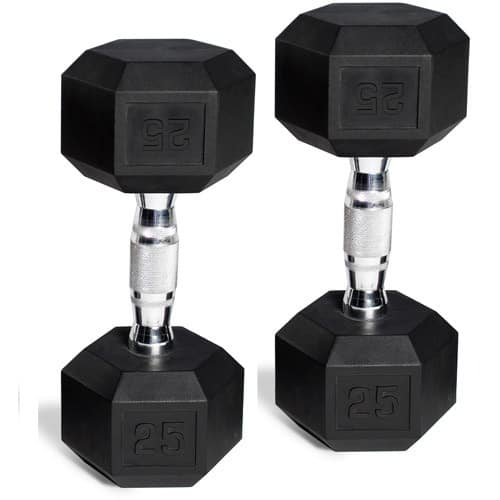 CAP Barbell Rubber-Coated Dumbbell Set from $9.02 @ Walmart