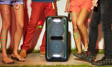 Sony GTK-XB7 High-Powered Extra Bass Bluetooth Speaker with Party Lights $189.99 at groupon