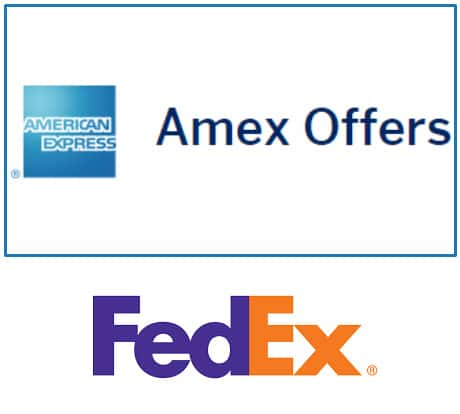 AMEX OFFERS: Get 25% back Fedex Ground/Express shipping (Expires 4/30/2018)