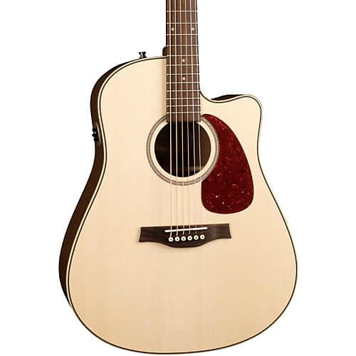 Seagull all solid wood Acoustic-Electric Guitar $400