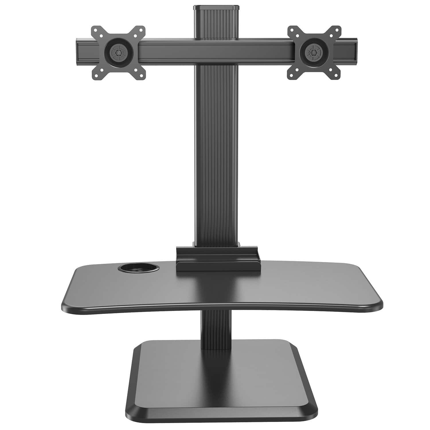 Rosewill Dual Monitor Stand Up Desk Riser Adjustable