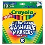 Crayola Products: 10-Count Washable Markers - $2 or 64-Count Crayons - $3 (it's back!)