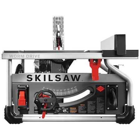 SKILSAW 10 In. Worm Drive Table Saw with Diablo Blade and Free portable drive site table - ACME Tools  $317.34 + FS and No Tax for most