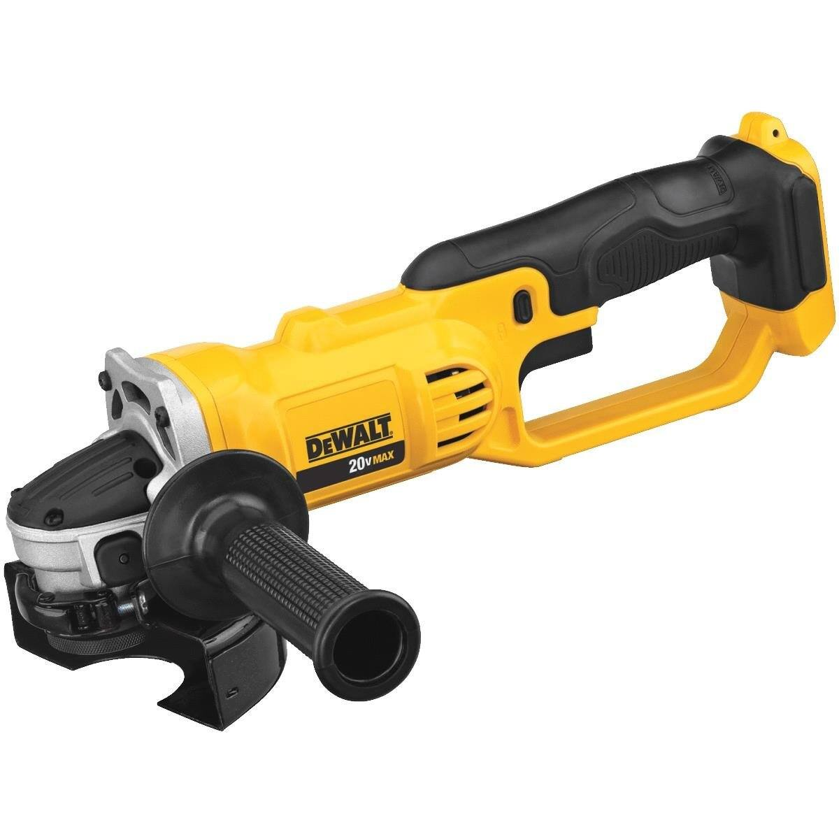 "Amazon: Dewalt DCG412B 20V MAX* Lithium Ion 4-1/2"" grinder (Tool Only) - $72.88 + Free Shipping"
