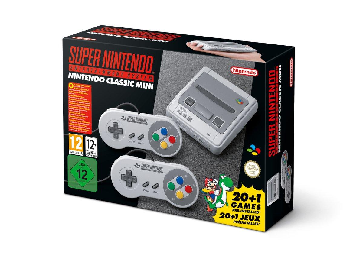 Super Nintendo Classic Mini Console (Euro Version) $93.44