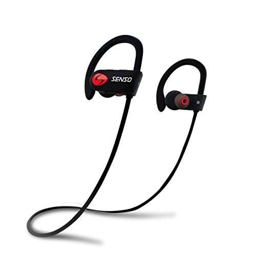 SENSO Bluetooth Headphones, Best Wireless Sports Earphones w/ Mic IPX7 Waterproof HD Stereo Sweatproof for $20.97 +FS