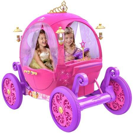 Disney Princess Ride on Carriage 24 V as low as $150