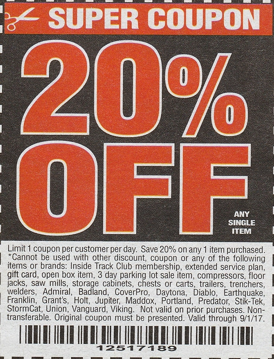 Harbor Freight 25 Off Coupon Slickdeals Net