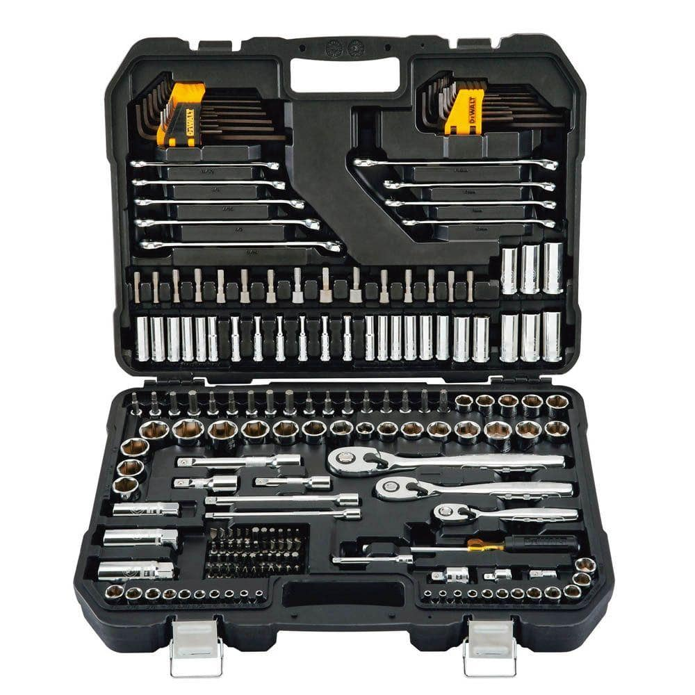 dewalt mechanics tool set 200 piece for 99 home depot. Black Bedroom Furniture Sets. Home Design Ideas