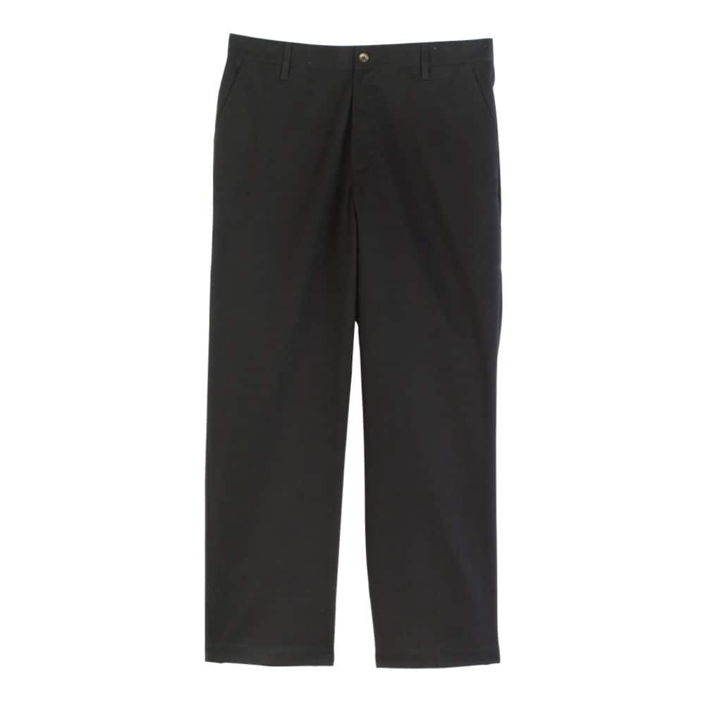 Basic Editions Men's Wrinkle Resistant Flat Front Pants $13.99 at kmart