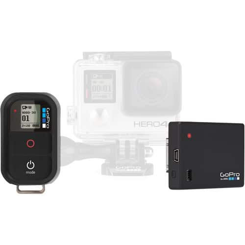 GoPro Remote and Battery BacPac Bundle $18.97
