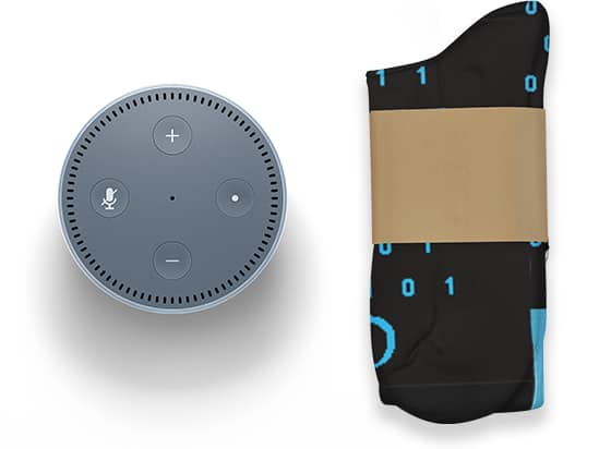 Free Echo Dot - Publish an Alexa Skill in AUGUST to receive a free Echo Dot + Pair of socks