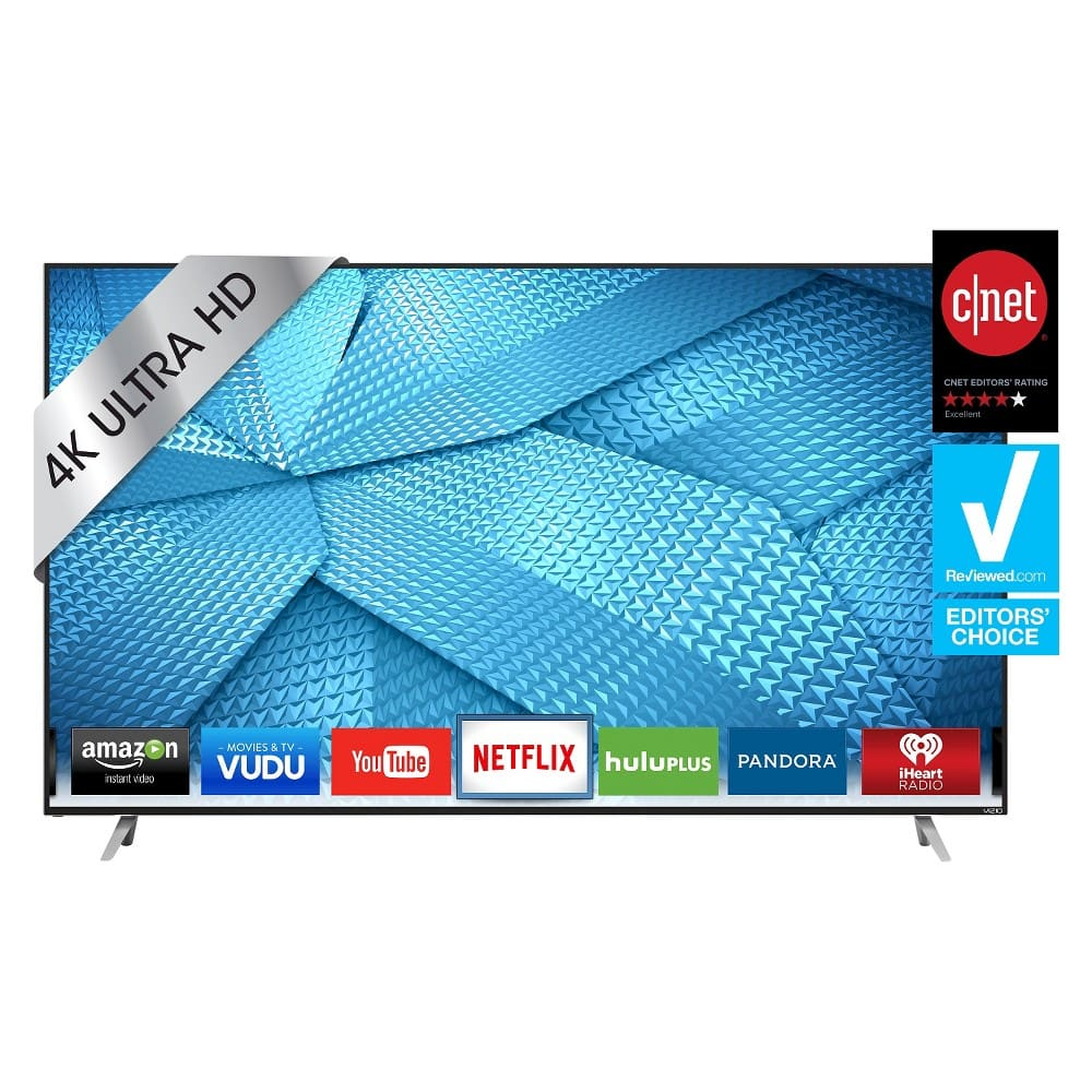 """Target: VIZIO 50"""" Class 2160p 120Hz UHD Full-Array 4K LED Smart TV - Black (M50-C1) + $100 GC $554.76  with Redcard and 20% Coupon - YMMV"""