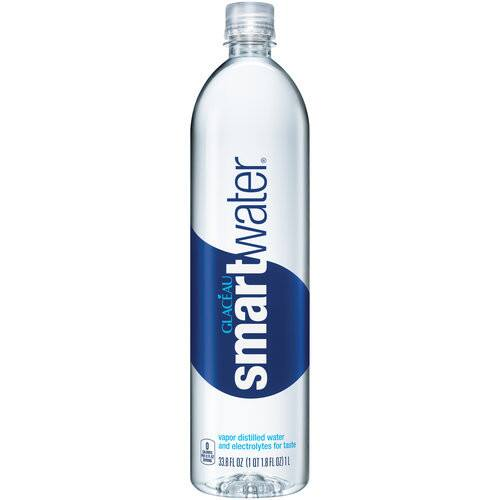 $6.29 ($9.99, 37% off) Glaceau Smartwater Vapor Distilled Water, 33.8 Ounce (Pack of 6)