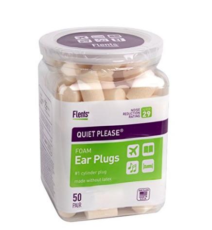 $9.40 Flents Quiet Please Ear Plugs (50 Pair)