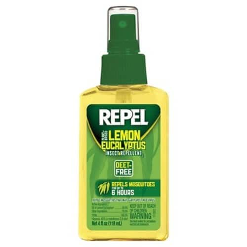 Repel Lemon Eucalyptus Natural Insect Repellent, 4-Ounce Pump Spray [4-Ounce, Pack of 1] $3.57