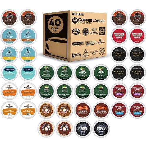$16.57 Keurig K-Cup 40 Count Coffee Lover's Variety Pack